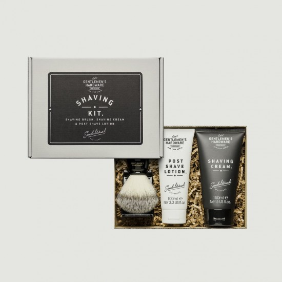 Gentlemen's Hardware - Kit de rasage