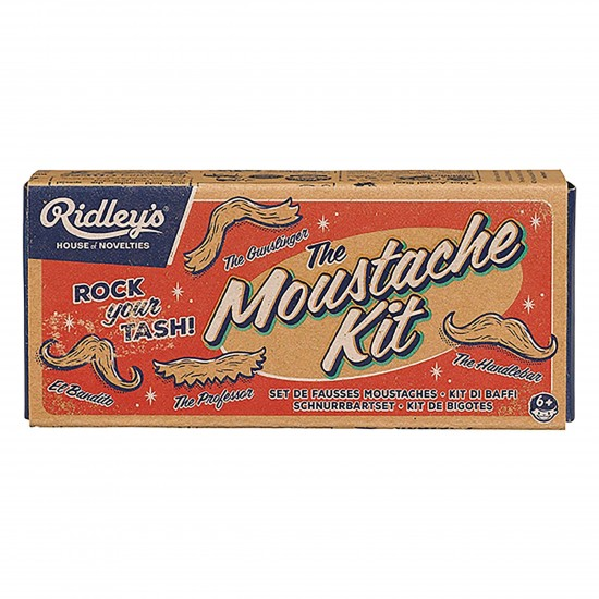 Ridley's - Set de fausses moustaches