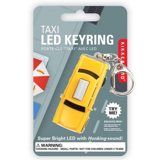 Kikkerland - Porte clés taxi
