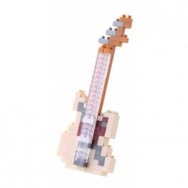 Nanoblock - Guitare éléctrique ivoire