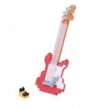 Nanoblock - Guitare éléctrique rouge