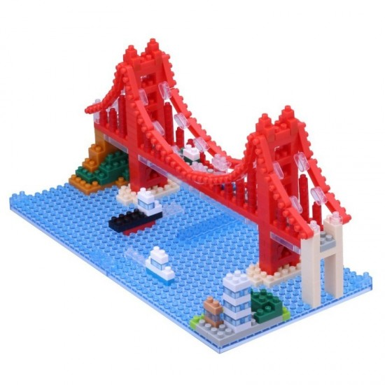 Nanoblock - Pont du Golden Gate
