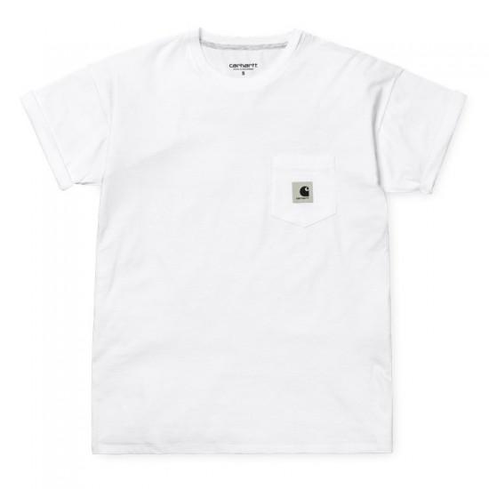 Carhartt WIP - T-shirt blanc avec poche