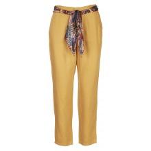 Lab Dip - Pantalon léger orangé avec ceinture