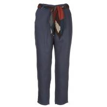 Lab Dip - Pantalon léger marine avec ceinture