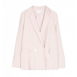 Grace et Mila - Veste blazer rose pâle