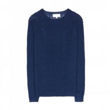 Grace et Mila - Pull tricoté marine