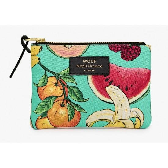 Woouf - Petite pochette imprimé Tutti Frutti