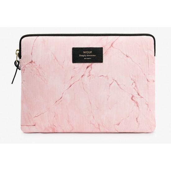 Woouf - Housse imprimé marbre rose pour tablette et Ipad Sleeve