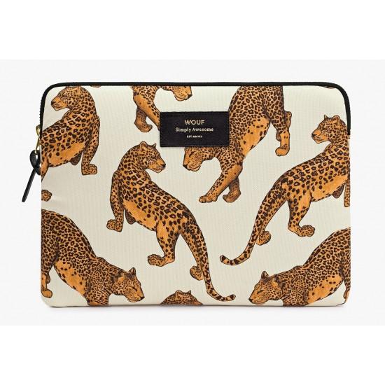 Woouf - Housse imprimé léopard pour tablette et Ipad Sleeve