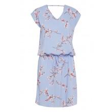 B.young - Robe bleue à fleurs