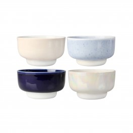 Klevering - Set de 4 bols en porcelaine