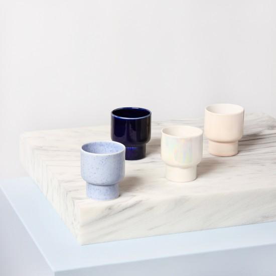 Klevering - Set de 4 tasses en porcelaine