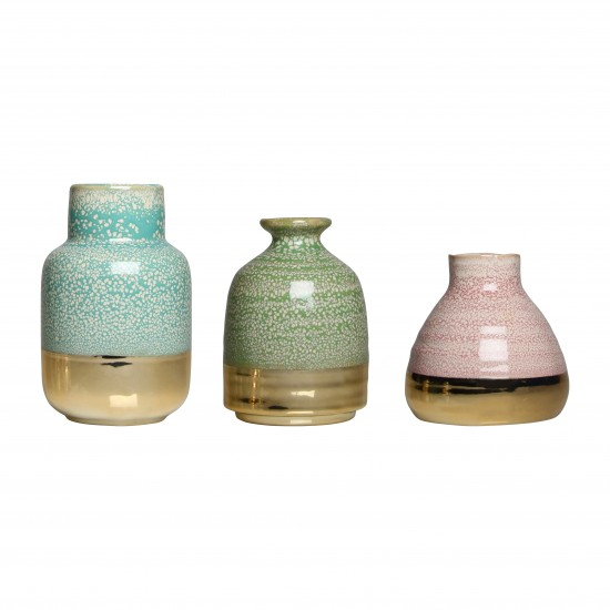 Klevering - Set de 3 vases