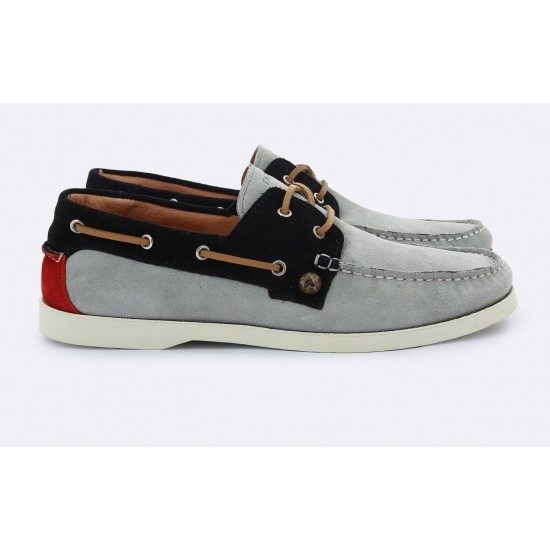 Faguo - Chaussures bateau grises