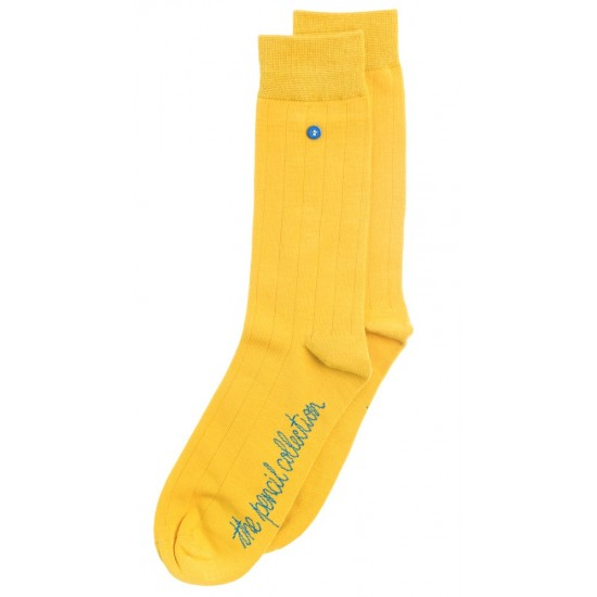 Alfredo Gonzales - Chaussette Pencil Classic Mustard