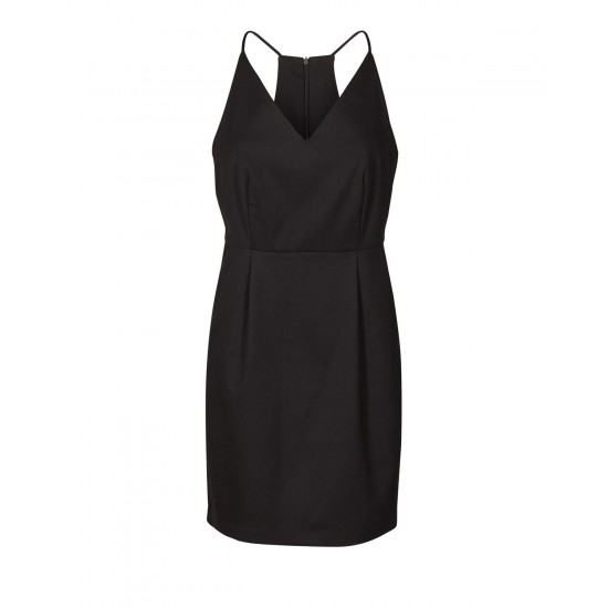 Minimum - Robe noire à bretelles