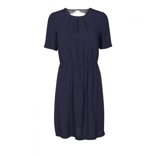 Minimum - Robe marine manches courtes