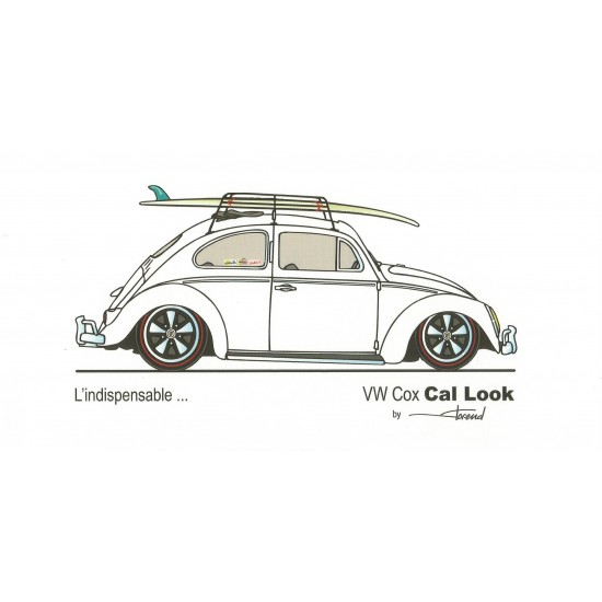 Dabel Prod - Carte VW Cox Cal Look