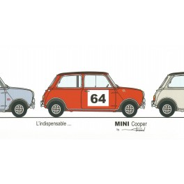 Dabel Prod - Carte Mini Cooper