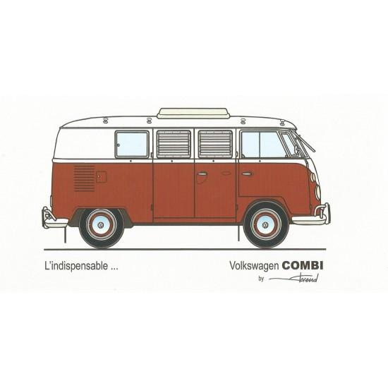Dabel Prod - Carte Volswagen Combi