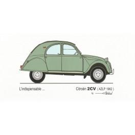 Dabel Prod - Carte Citroën 2CV