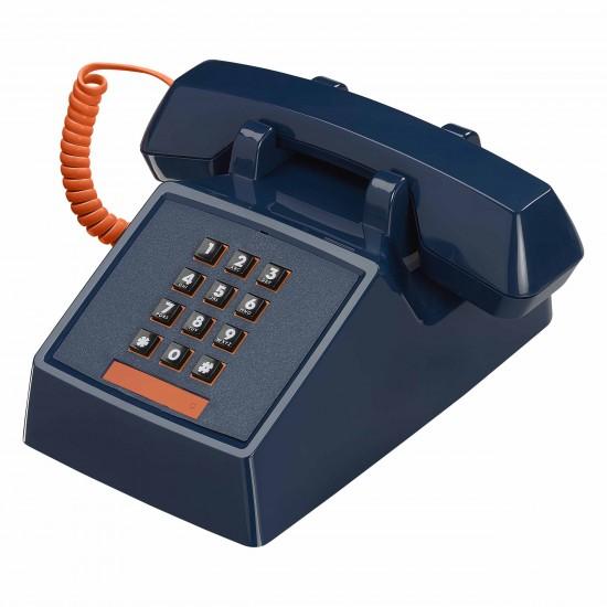 Wild & Wolf - Téléphone rétro 2500 bleu atlantique