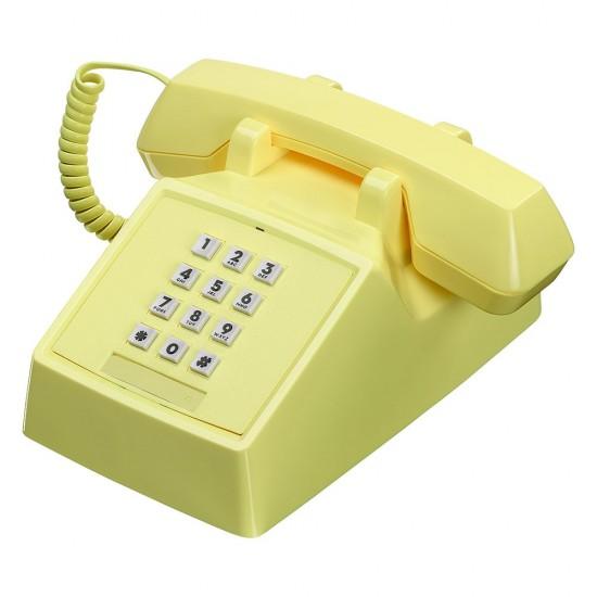 Wild & Wolf - Téléphone rétro 2500 jaune citron