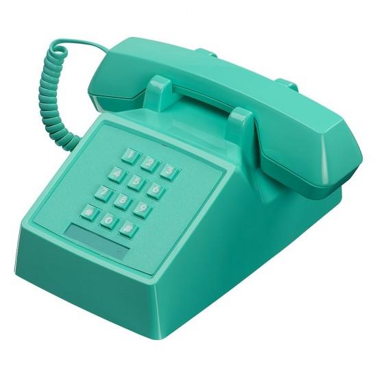 Wild & Wolf - Téléphone rétro 2500 turquoise