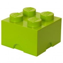 LEGO - Boîte de rangement vert pomme