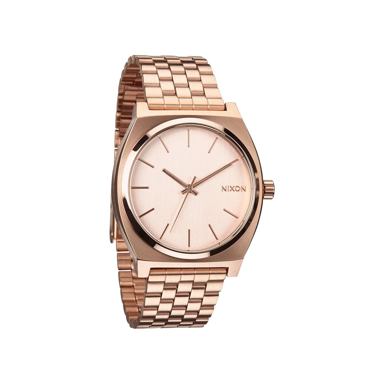 acheter montre nixon time teller all rose gold montre pour hommes. Black Bedroom Furniture Sets. Home Design Ideas