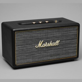 marshall headphones enceinte de salon stanmore noire. Black Bedroom Furniture Sets. Home Design Ideas