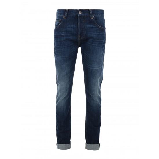 Bellfield denim - Jeans foncé délavé fit