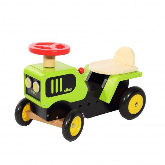 Vilac - Porteur tracteur en bois