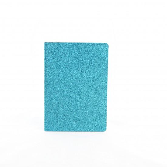Bakker - Cahier bleu à paillettes