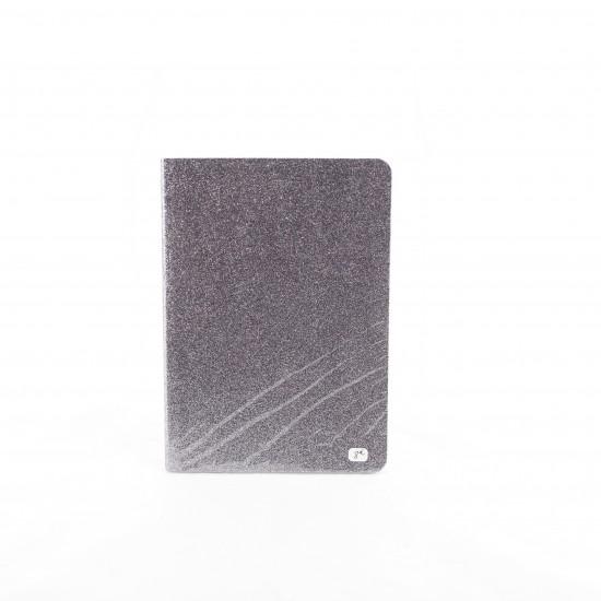 Bakker - Cahier gris foncé à paillettes