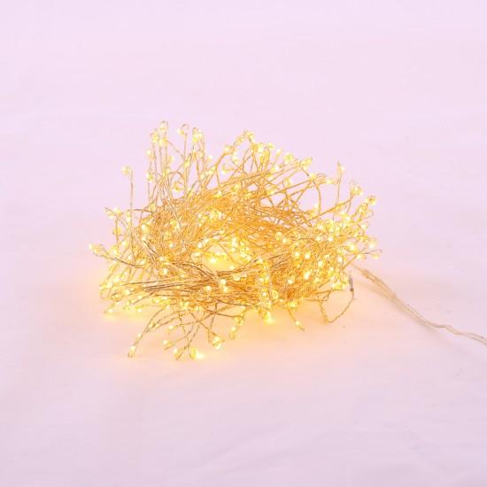 BAZARDELUXE - Guirlande lumineuse luciole or