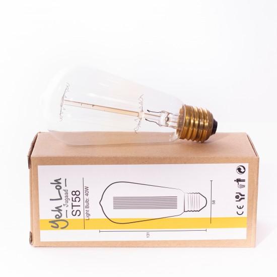 Yeh Loh - Ampoule à filament droit