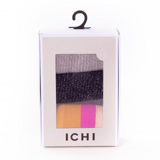 Ichi - Pack chaussettes à paillettes