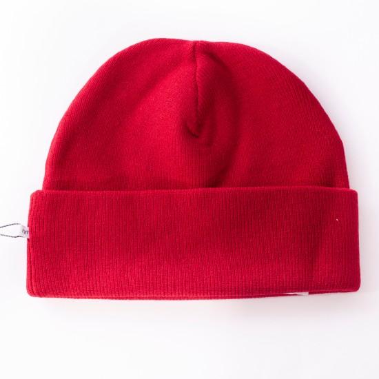Minimum - Bonnet rouge piment en laine