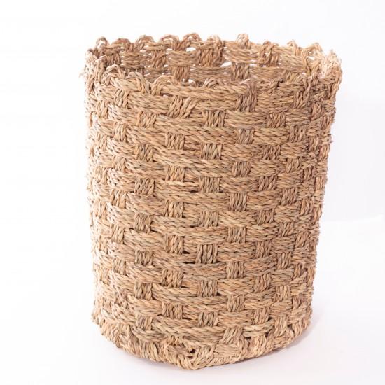 La vannerie - Corbeilles tressées en palmier