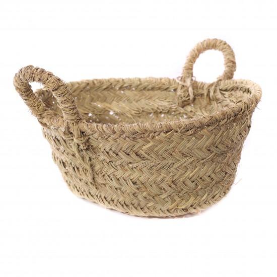 La vannerie - Cache pot style panier