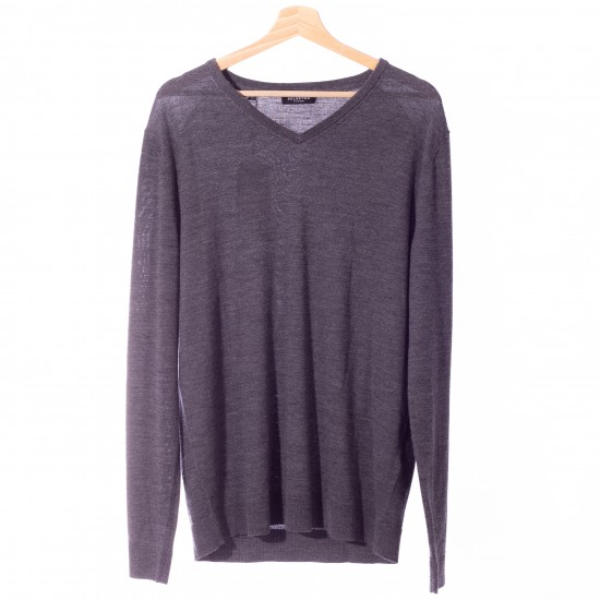 Selected homme - Pull gris homme