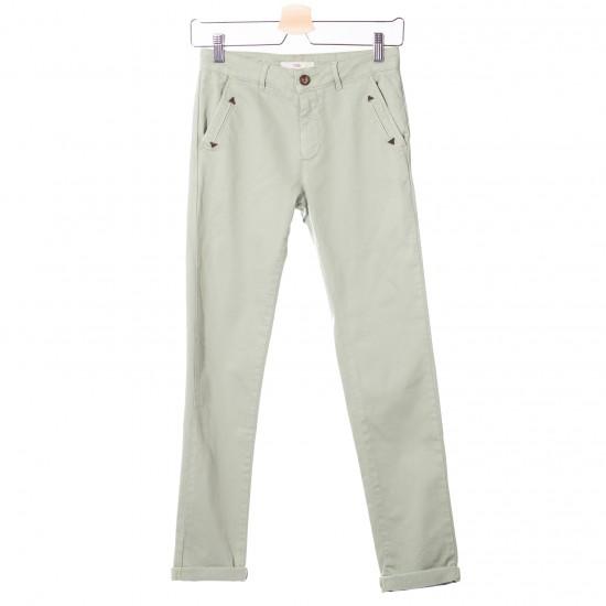 Hod Paris - Pantalon chino vert menthe