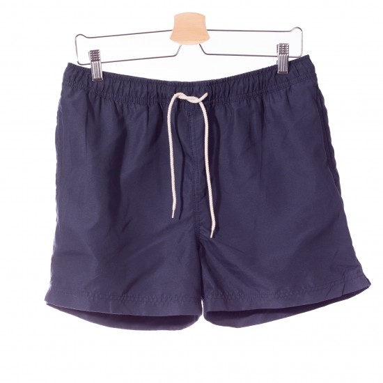 Selected homme - Short de bain bleu marine