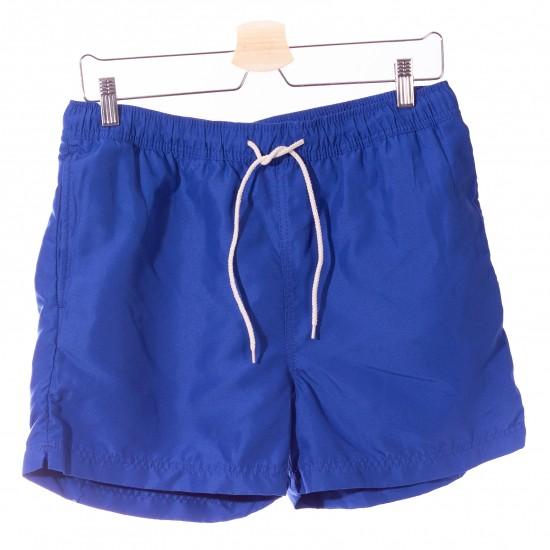 Selected homme - Short de bain bleu électrique