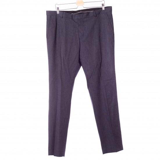 Selected - Pantalon costume bleu chiné