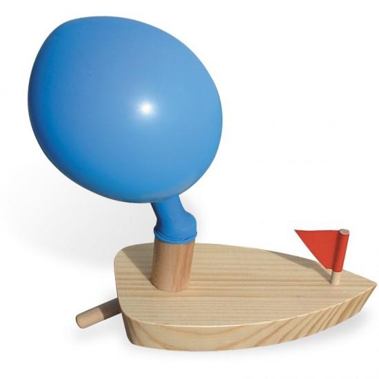 Vilac - Bateau ballon en bois