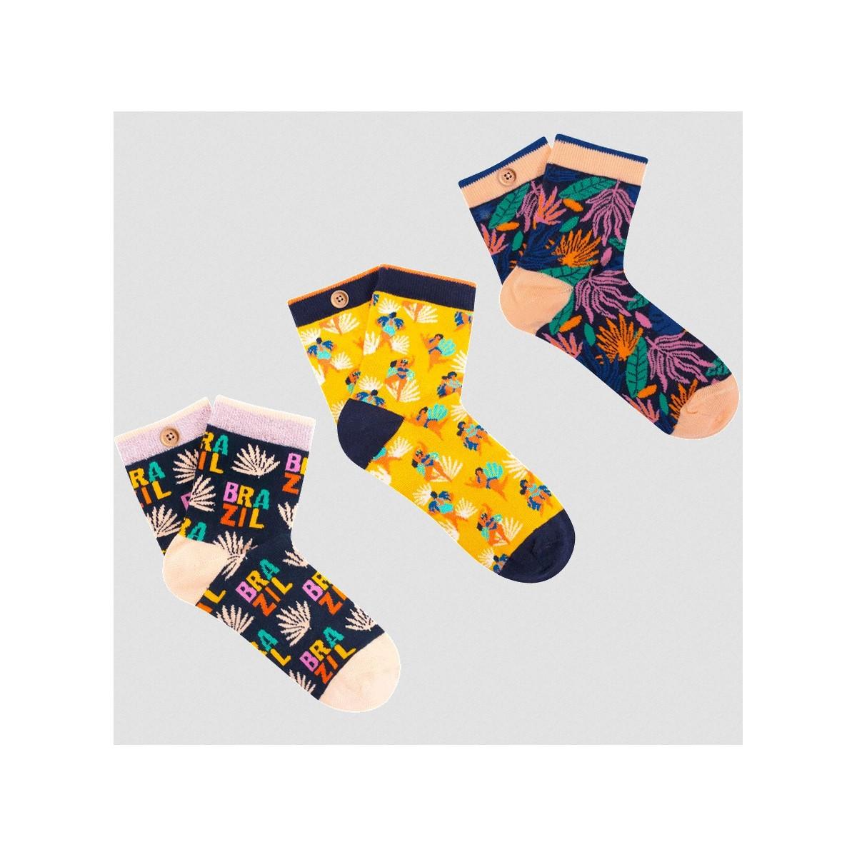 Cabaia - Pack chaussettes Samba de Janeiro