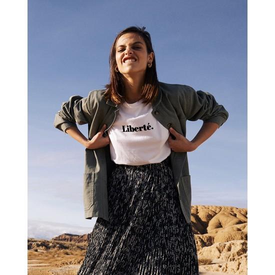 Grace et Mila - Tee shirt écru Liberté